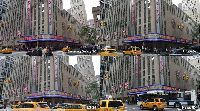 Galaxy S6 Camera, LG G4 Camera, iPhone 6S Camera Outdoors day