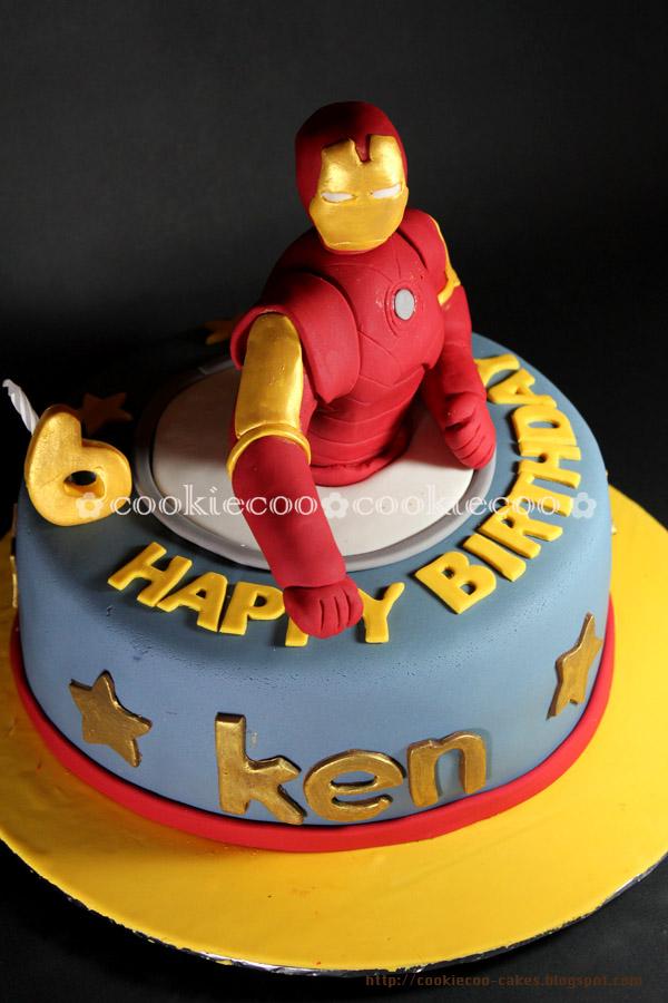 Iron Man Birthday Cake Uk Image Inspiration of Cake and Birthday