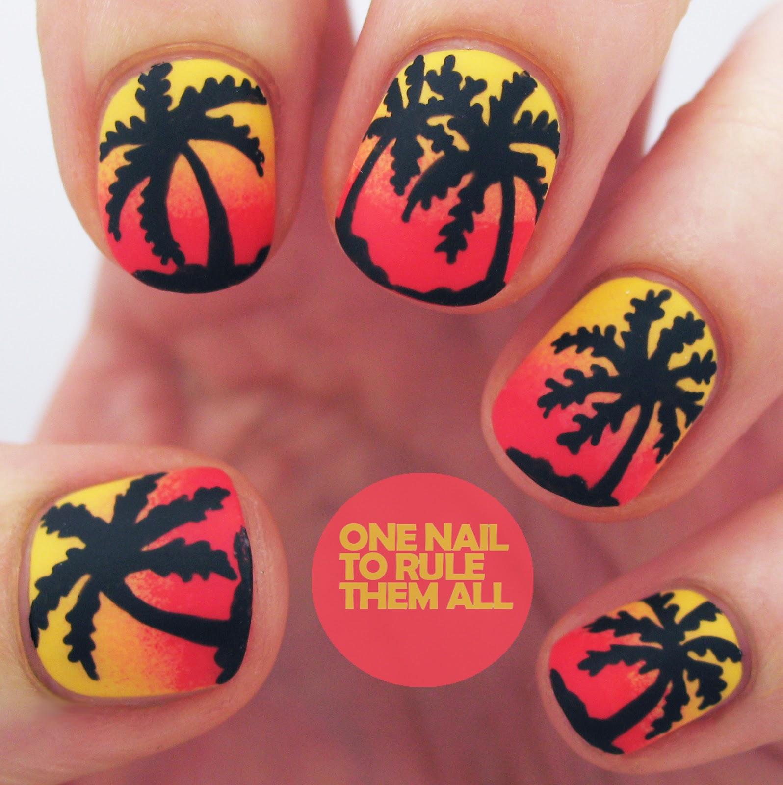 Nail Art - Magazine cover