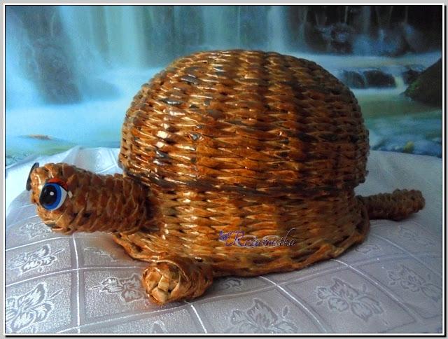 плетеная черепаха