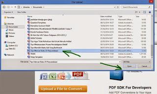 cara gratis convert file word ke pdf