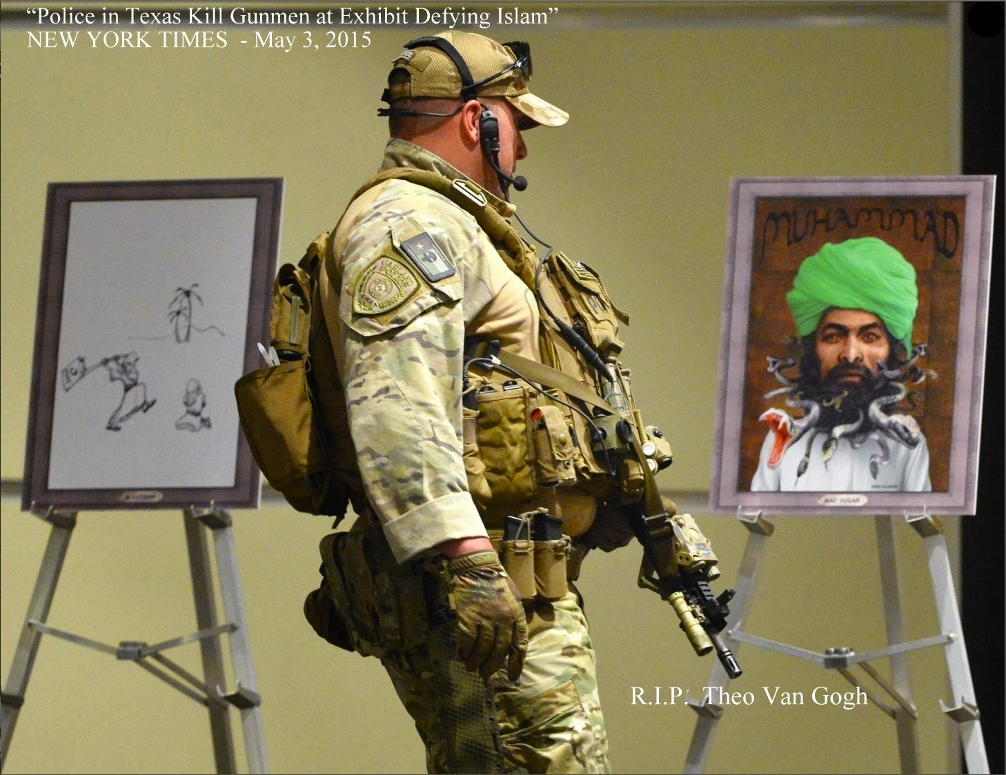 Garland Texas SWAT meets Muhammad