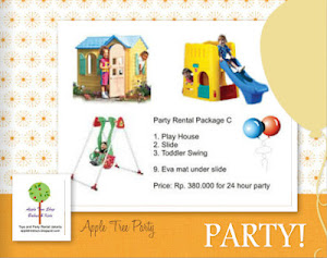 Paket Sewa Mainan untuk Pesta