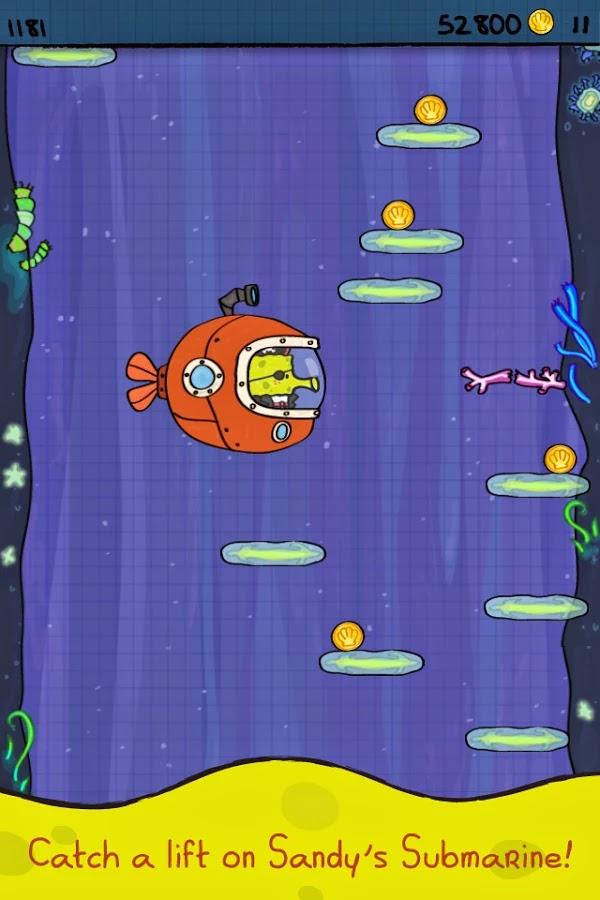 Doodle Jump SpongeBob v1.0 Mod [Unlimited Money]