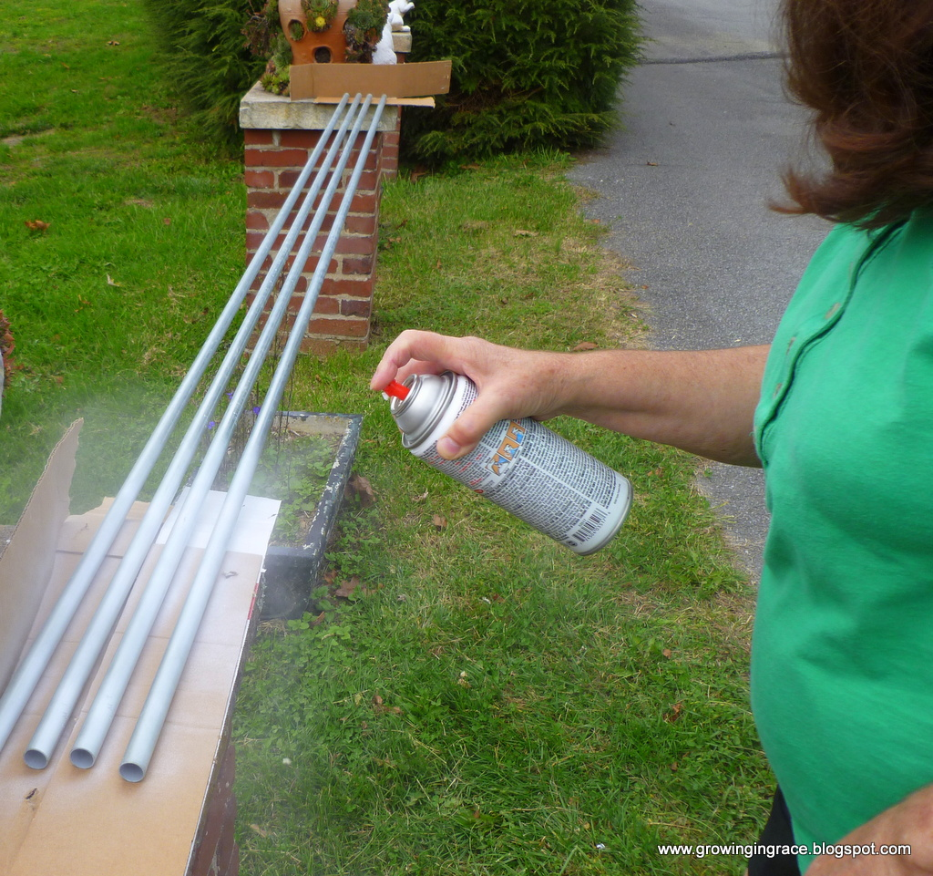 how to make curtain rod holders