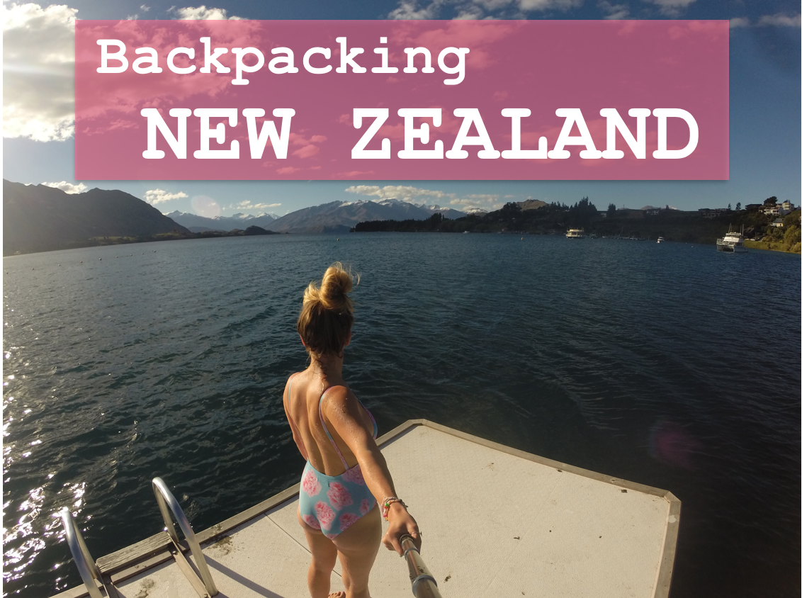 My GoPro footage from backpacking New Zealand...