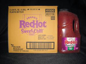 Frank's Sweet Chili Sauce 4/64 oz - Item # 76260
