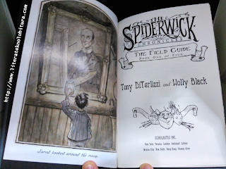 spiderwick chronicles the field guide title page