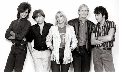 The Textones circa 1984