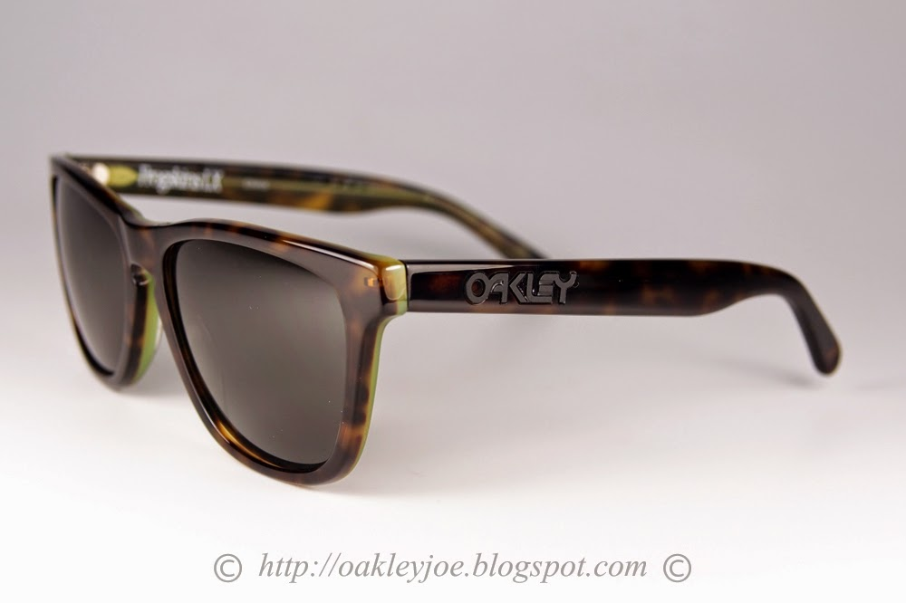 are oakley frogskins polarized 6m3u  oo2043-10 Frogskins LX smoke grey + black iridium polarized $300 now $255!!  lens pre coated with Oakley hydrophobic nano solution