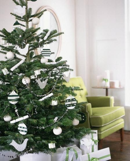 More trends modern christmas decoration for Christmas tree color schemes