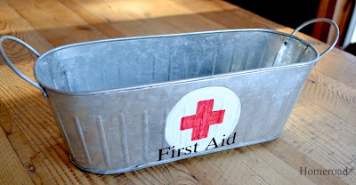 first aid galvanized steel tub www.homeroad.net
