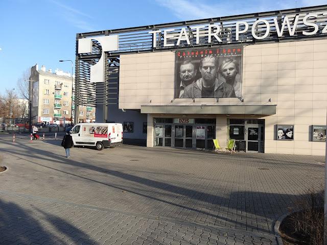 Teatr Powszechny przy ulicy Jana Zamoyskiego 20