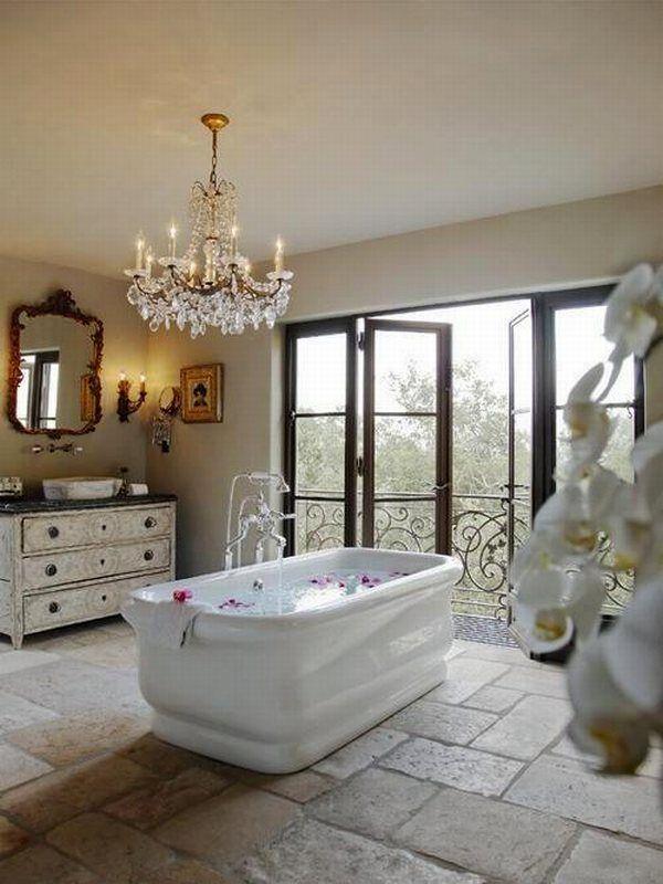 Decorar Un Baño Romantico:Beautiful Bathroom
