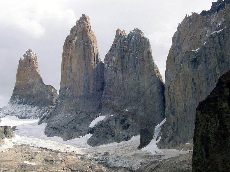 Spectacular Granite Spires at Torres del Paine National Park 2