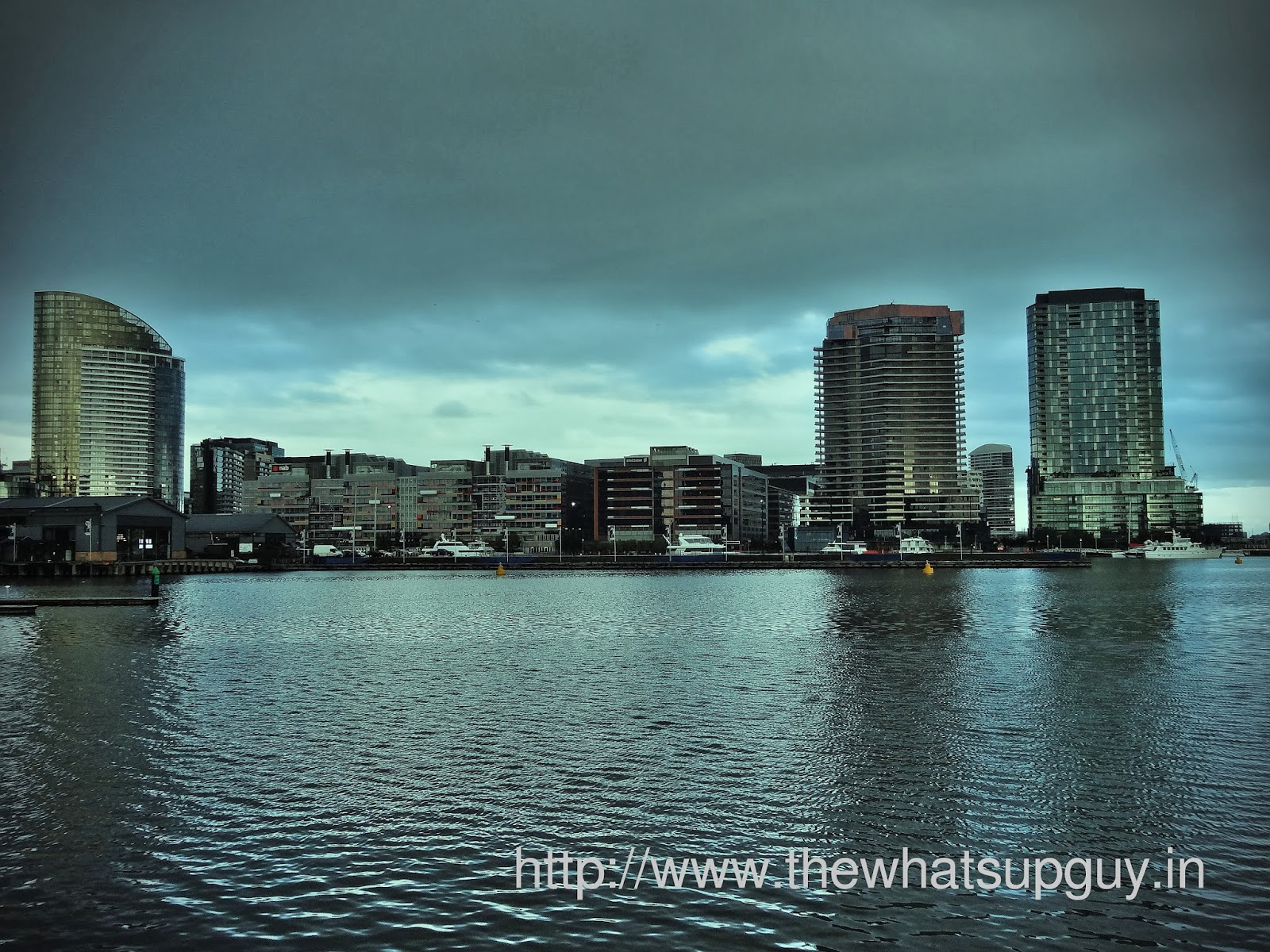 Dockland City View