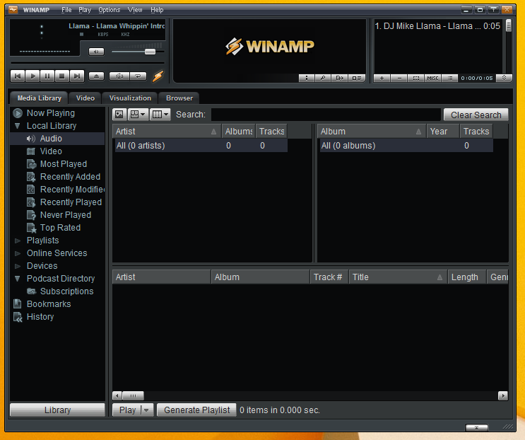Live your own Radio with Winamp and Shoutcast Plugin. Nepali Internet Tricks