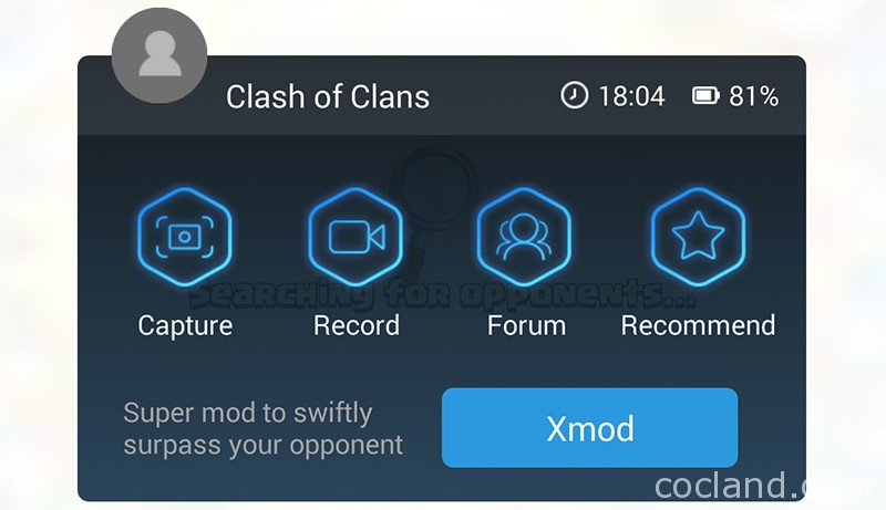 xmod clash of clans