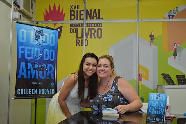 Mar Paschoal e Colleen Hoover