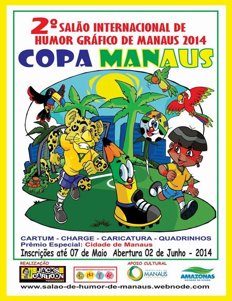 2º Salão Internacional de Humor de Manaus 2014