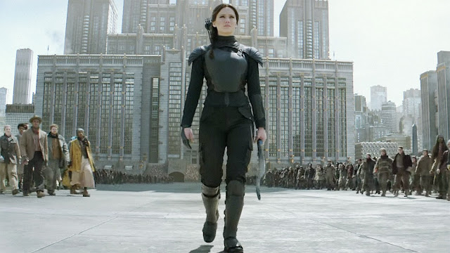 Say what you want, but Katniss Everdeen knows how to handle a bow and arrow