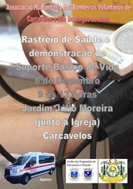 RASTREIO DE SAÚDE EM CARCAVELOS