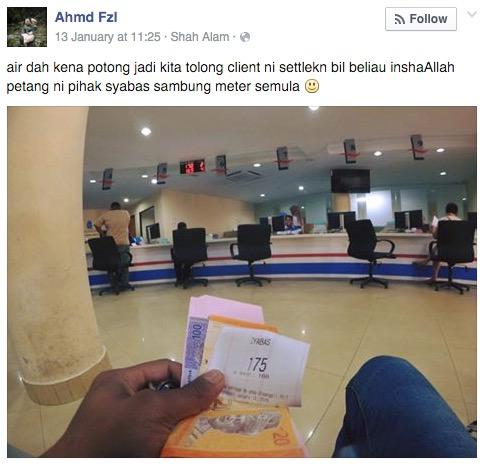 Upah runner 'seikhlas hati' Faizal jadi perhatian