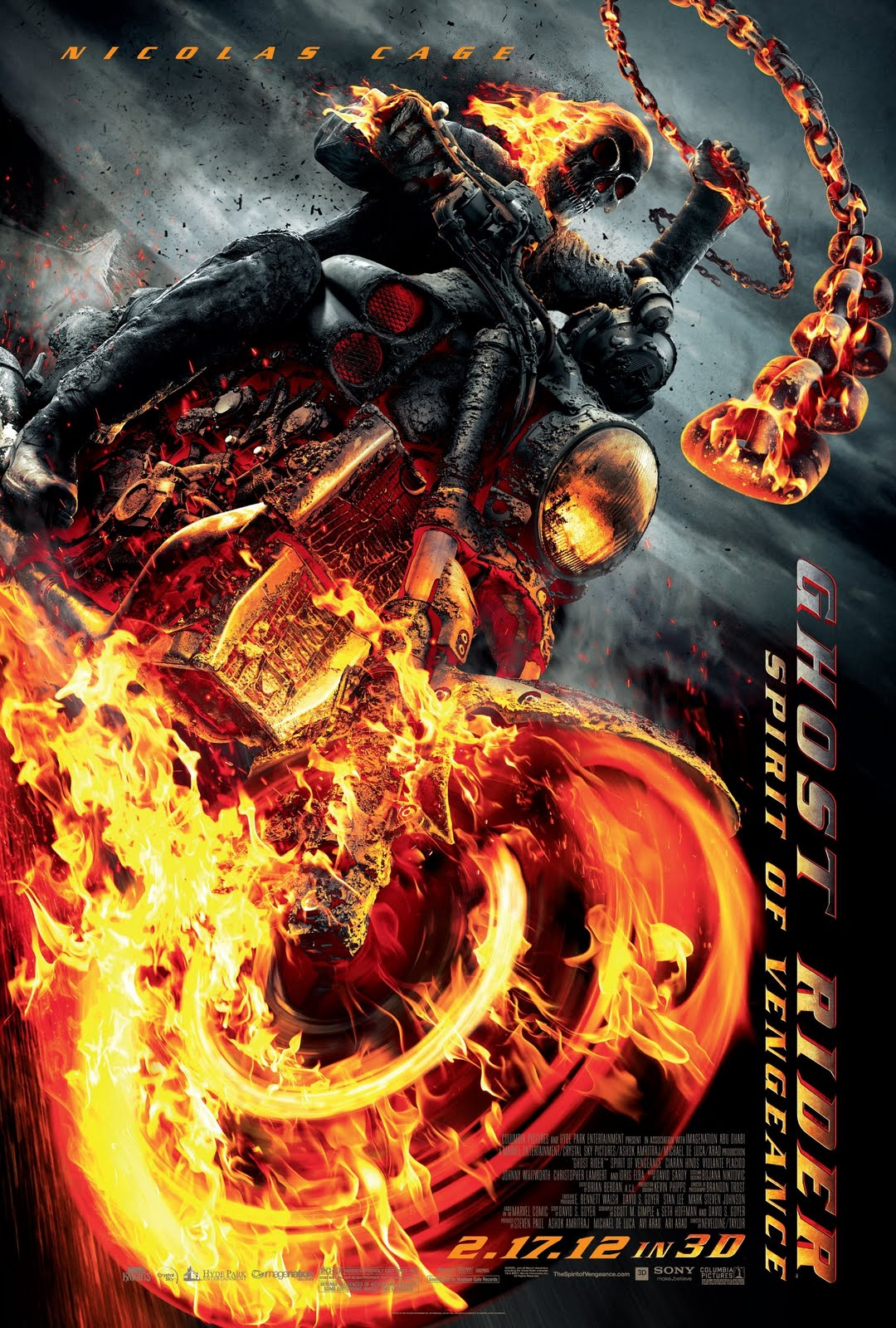 Ghost Rider 2 Spirit of Vengeance 2011
