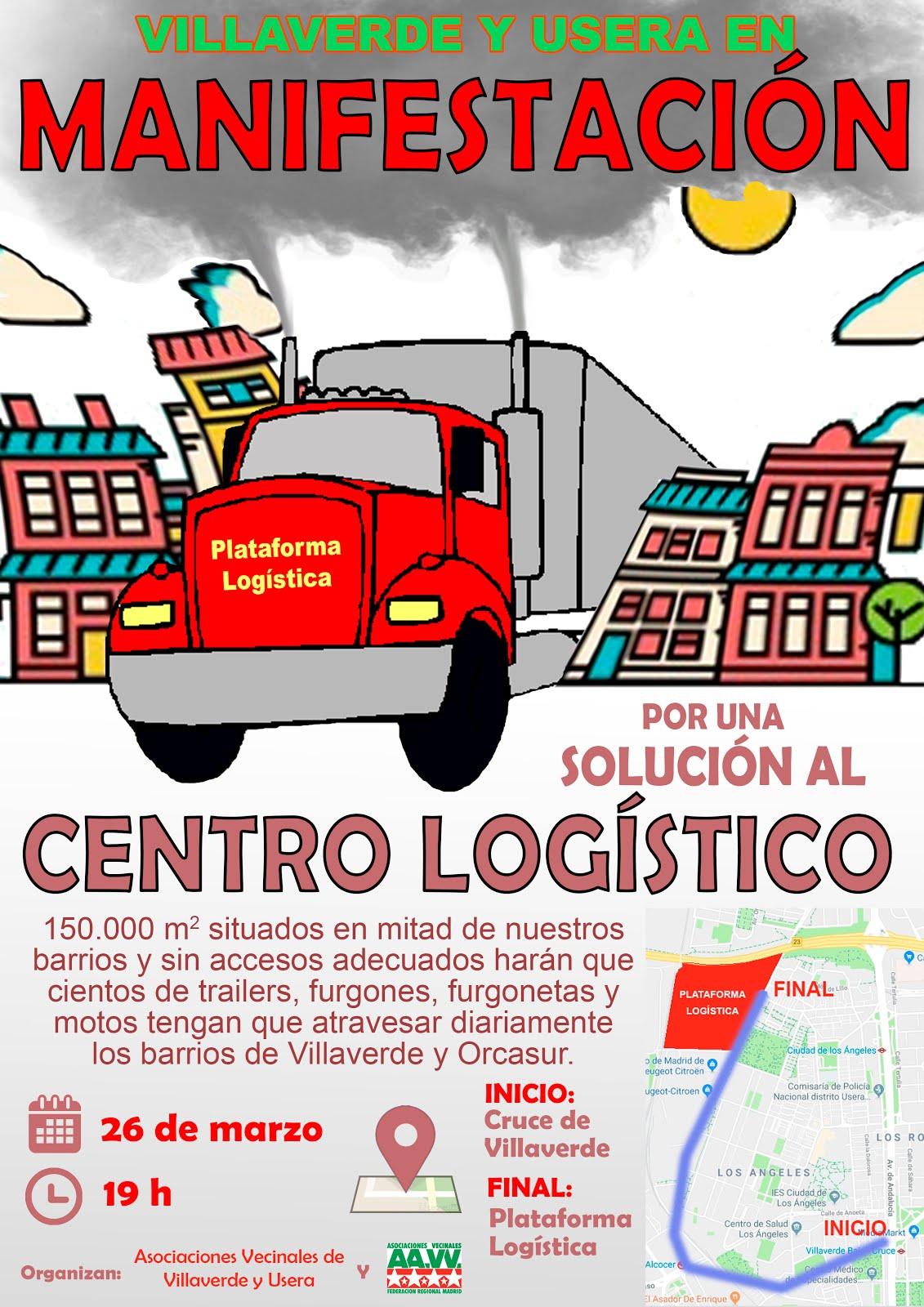 26 de marzo Manifestación en Villaverde / Usera