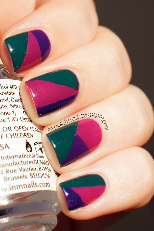 polish days geometry tape manicure TrustInFashion PassionForFashion BreakThrough Essence