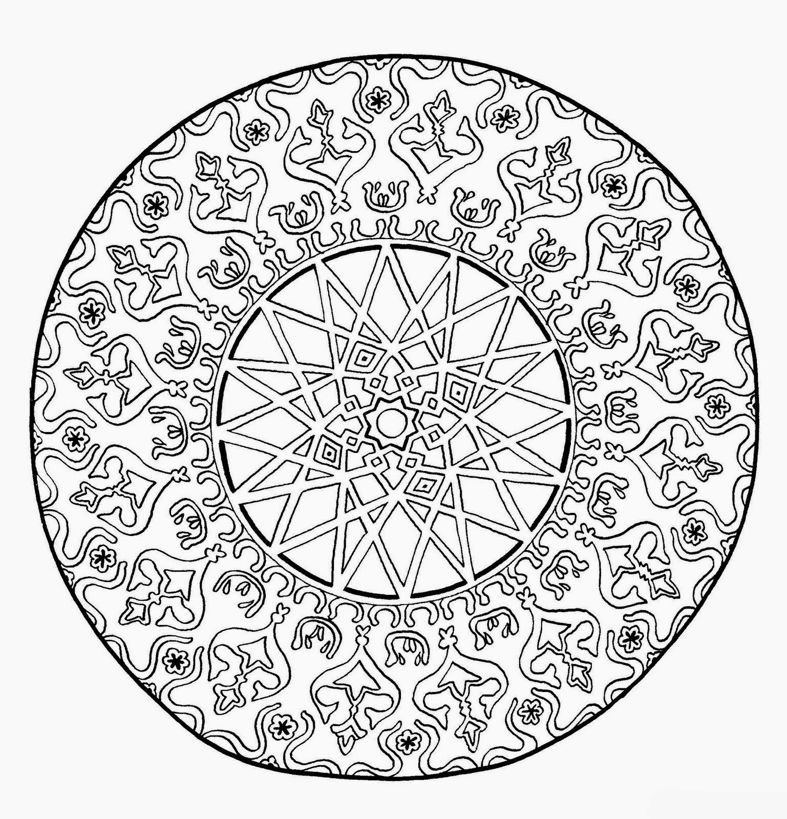 CIENTUAL: Mandalas para pintar