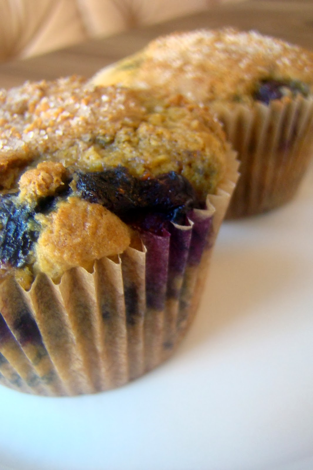... : Blueberry Muffins Dusted with Cinnamon Sugar (nutrient-dense