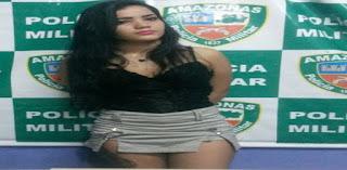 Princesinha do crime: Jovem de 19 anos é presa suspeita de comandar tráfico