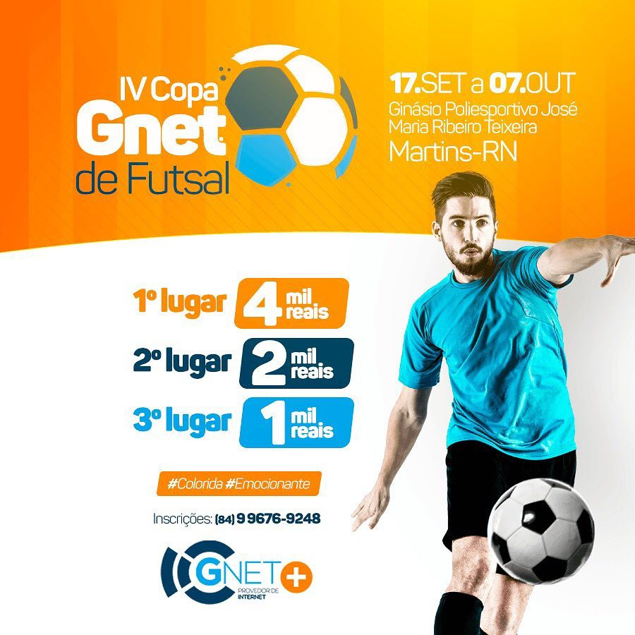 IV COPA GNET FUTSAL 2018!