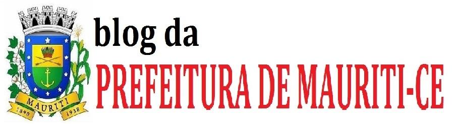 Blog da Prefeitura de Mauriti-CE