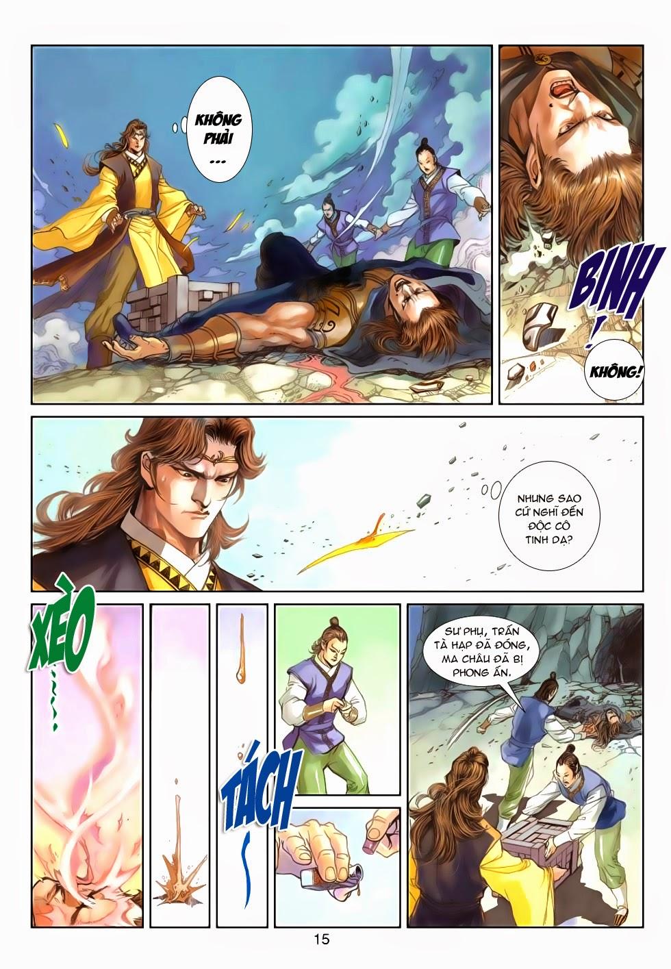 Thần Binh Tiền Truyện 4 - Huyền Thiên Tà Đế chap 5 - Trang 15