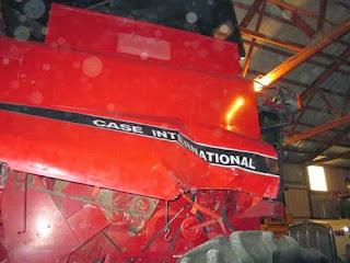 Case-IH 8120 combine parts