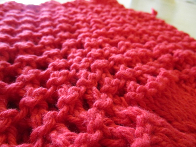 The Lil Hayseed Blog Knitted Drawstring Pouch Pattern