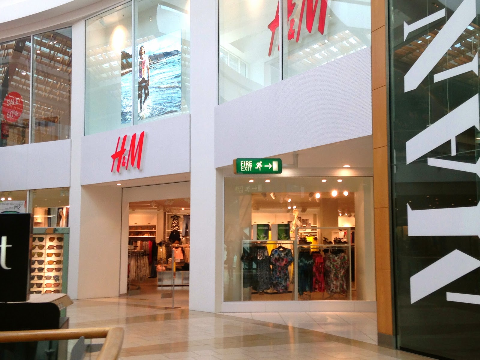 A picture of H&M Intu Chapelfield Norwich