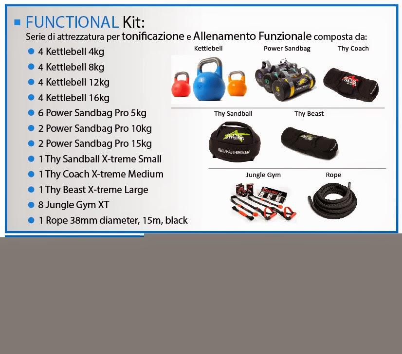 Kit Jordan® per l'Allenamento Funzionale