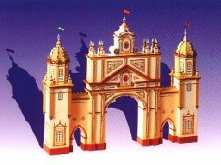 Portada Feria de Sevilla 2001