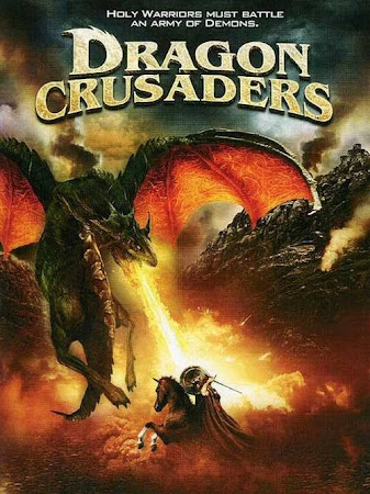 Poster Of Dragon Crusaders (2011) In Hindi English Dual Audio 100MB Compressed Small Size Mobile Movie Free Download Only