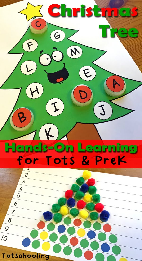 Christmas Tree Hands-On Printables