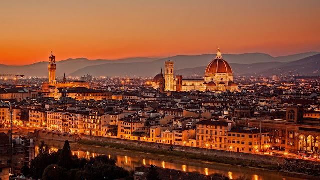 Firenze City Italy
