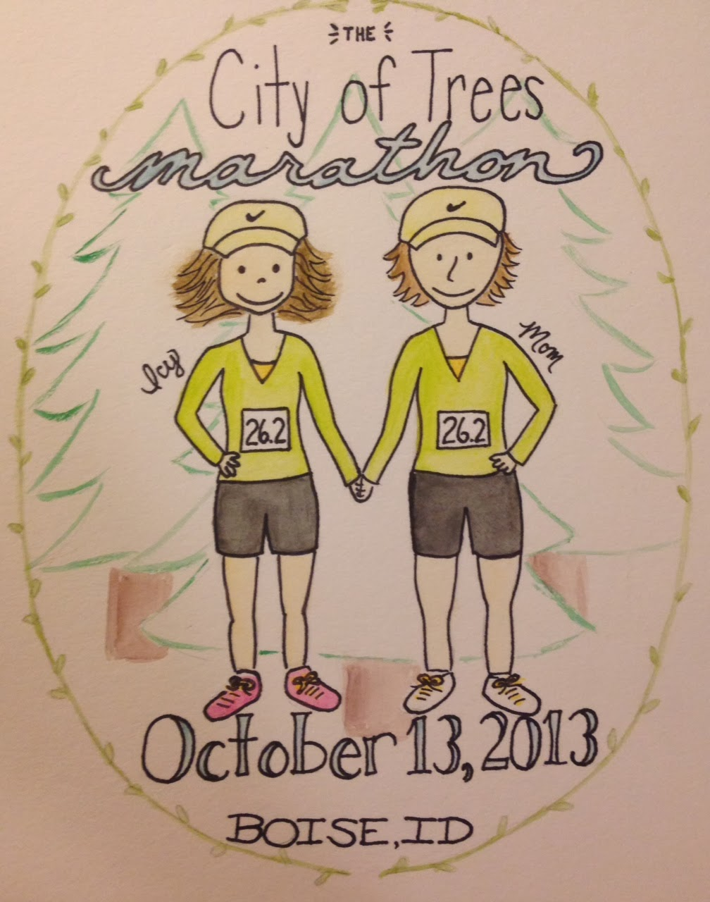 City of Trees Marathon Portrait