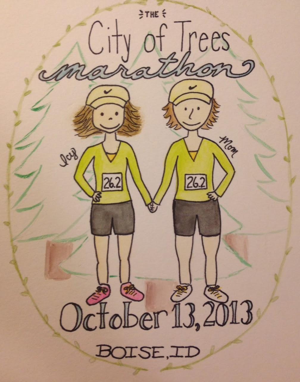 City of Trees Marathon Portrait