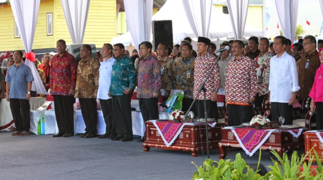 Jokowi Minta Dompu dan Bima Jaga Taman Nasional Tambora