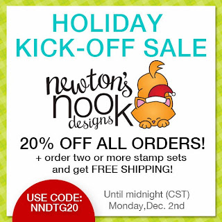 Holiday Kick off Sale at Newton's Nook Designs