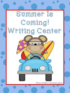 Fern Smith's Classroom Ideas Summer Is Coming Writing Center for Common Core