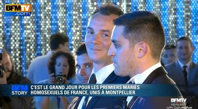 vincent et bruno, 1ers mariés gays de france